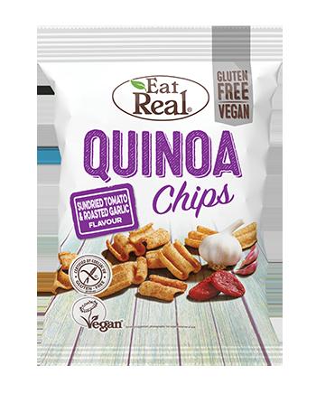 Chipsy z quinoa z suszonymi...