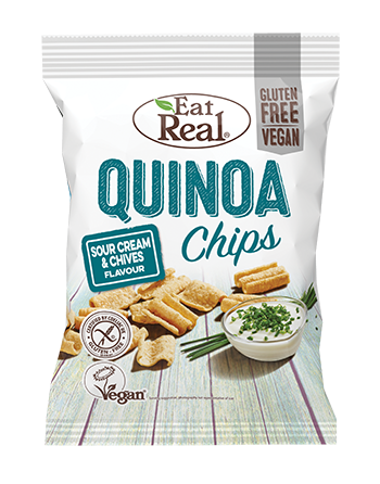 Chipsy z quinoa o smaku...