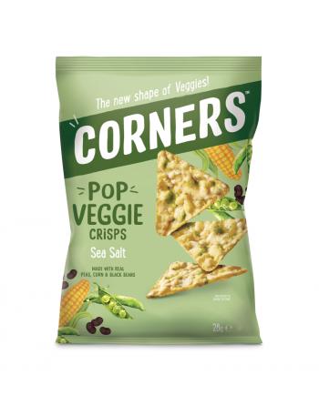 Chipsy warzywne z czarną...